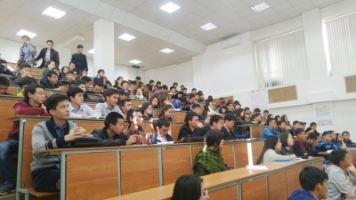 students at the MCH lectures